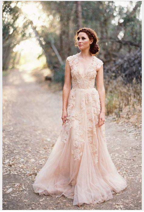 0d9be2a855a325e e2d238a blush gown blush wedding gowns