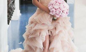 24 Fresh Blush Bridal Gown