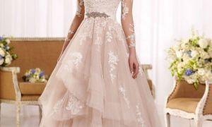 23 Elegant Blush Bridal Gowns