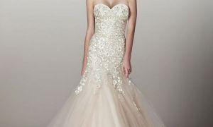 25 Fresh Blush Color Wedding Gown