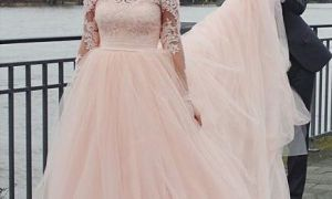 24 Fresh Blush Colored Wedding Dresses