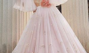 27 New Blush Wedding Gown