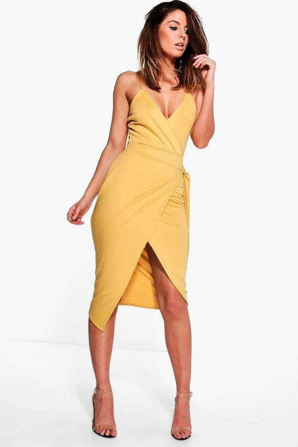 Body Dresses New Texture Body & Tie Wrap Midi Co ord Set Products