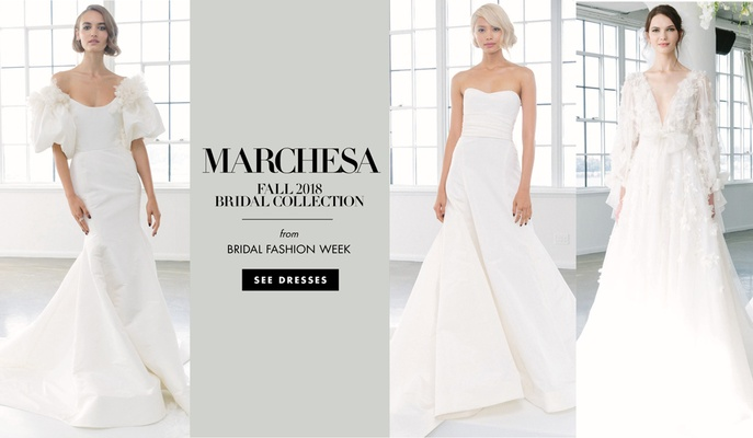 Bodycon Wedding Dress Unique Wedding Dresses Marchesa Bridal Fall 2018 Inside Weddings