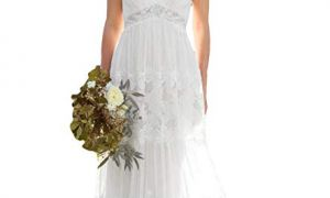 25 Lovely Bohemian Wedding Dresses Cheap