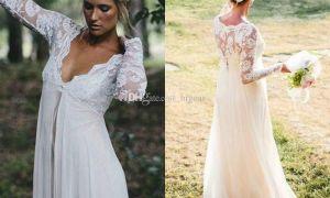 20 Lovely Boho Maternity Wedding Dress
