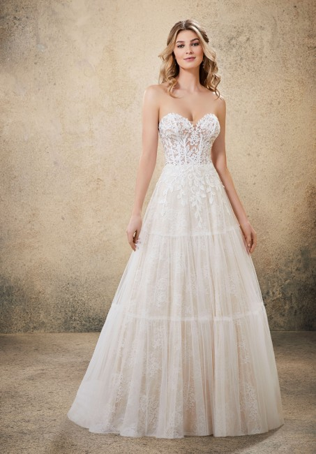 mori lee 6913 ricki boho style wedding dress 01 649