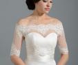 Bolero for Wedding Dresses Elegant F Shoulder Dot Lace Bolero Wedding Jacket Wedding Dress