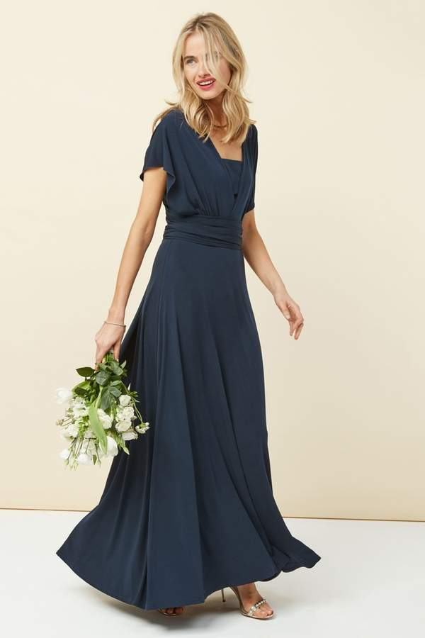 Next Womens Navy Multiway Bridesmaid Dress Blue