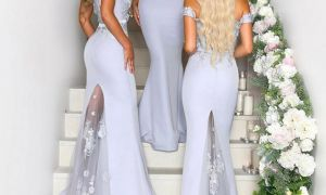 26 Inspirational Bridesmaid Dresses with Train