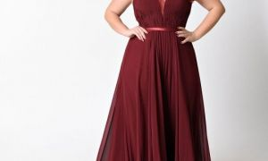20 Best Of Burgundy Wedding Dresses Plus Size