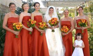 21 New Burnt orange Wedding Dresses