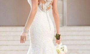 24 New button Back Wedding Dress