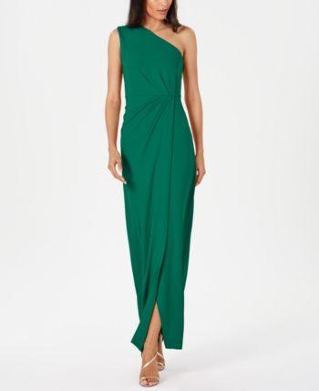 Calvin Klein Bridesmaid Dresses Inspirational Calvin Klein Draped E Shoulder Gown