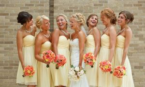 25 Best Of Canary Yellow Bridesmaid Dresses