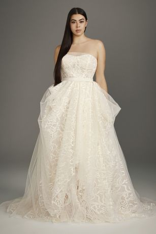 Cap Sleeve Lace Wedding Dress Vintage Lovely White by Vera Wang Wedding Dresses & Gowns
