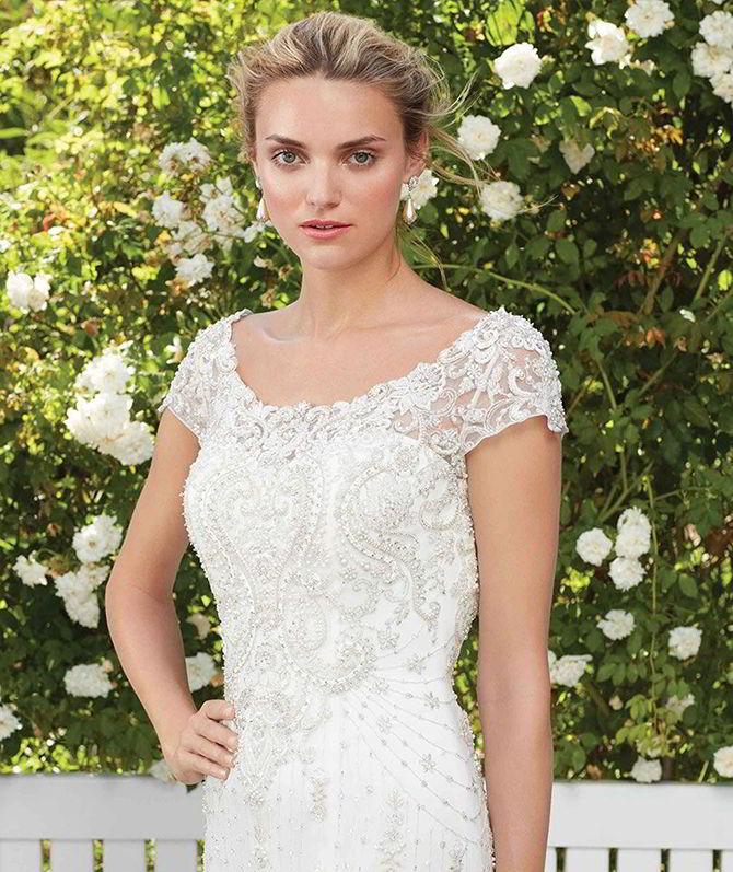 Casablanca Bridal Spring 2017 Wedding Dress 1