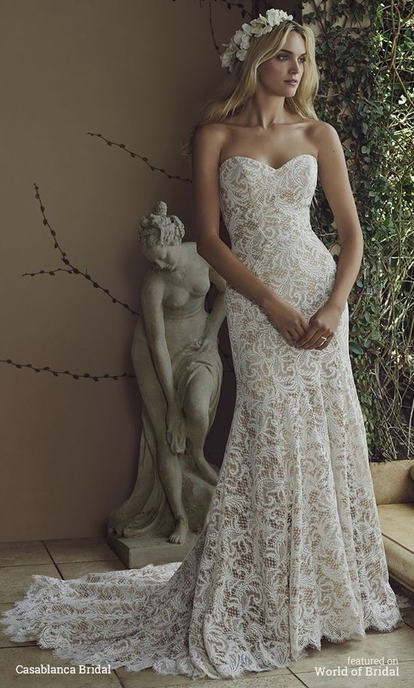 Casablanca Bridal Spring 2016 Wedding Dress 1