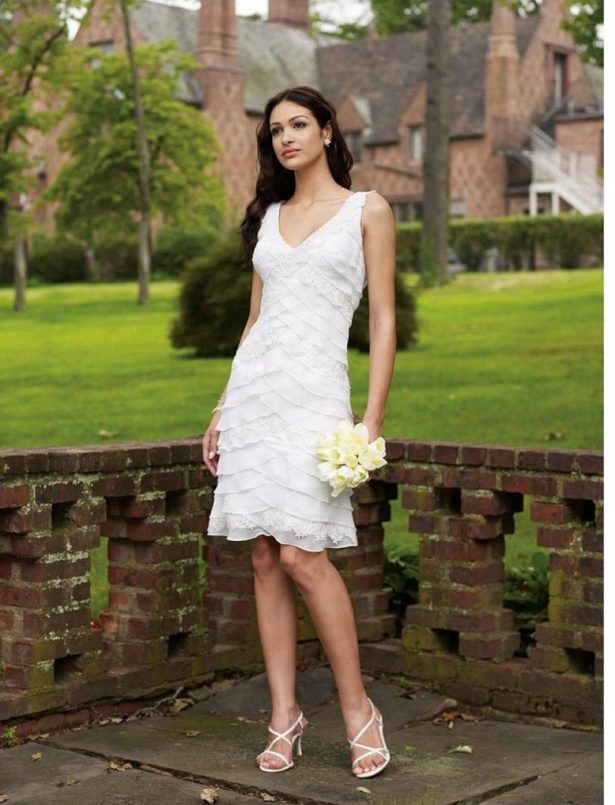 vintage lace wedding gowns casual backyard wedding dresses casual beach wedding dress 615x805 8