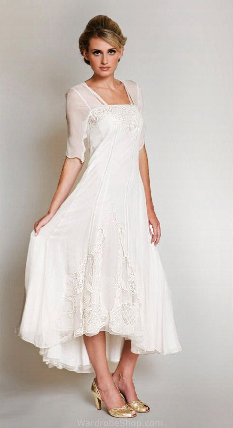 Casual Wedding Dresses for Second Marriages Luxury Romantic Vintage Weddings