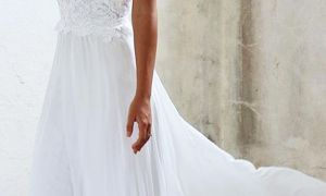 20 Beautiful Casual White Wedding Dresses