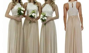 23 Beautiful Champagne Colored Bridesmaid Dress