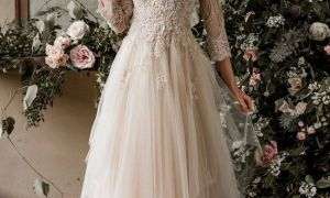 22 Beautiful Champagne Colored Wedding Dresses