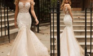 24 Elegant Champagne Dresses for Wedding