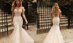 29 Unique Champagne Wedding Gown
