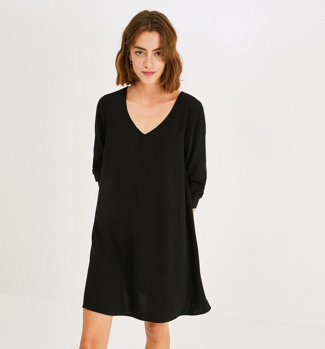 bias cut dress black zp s3 produit 650x699