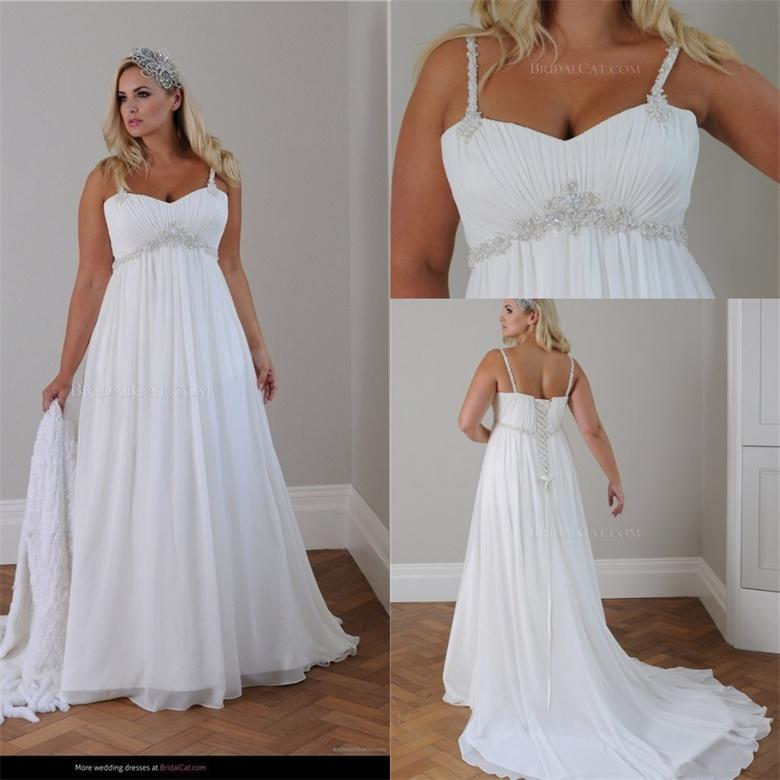 Cheap Plus Size Beach Wedding Dresses Unique Plus Size Beach Wedding Gowns Awesome Discount Stunning Two