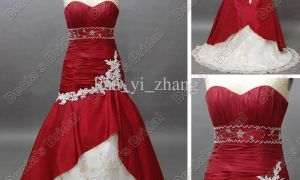 28 Fresh Cheap Red and White Wedding Dress