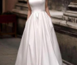 Cheap Simple Wedding Dresses Lovely Scoop Simple Satin Elegant Cheap Wedding Dresses Line