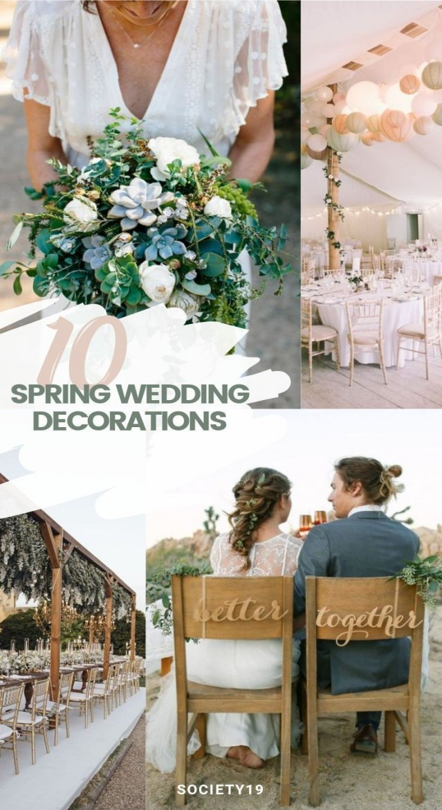 wedding decoration ideas 10 spring wedding decoration ideas that are to for of wedding decoration ideas