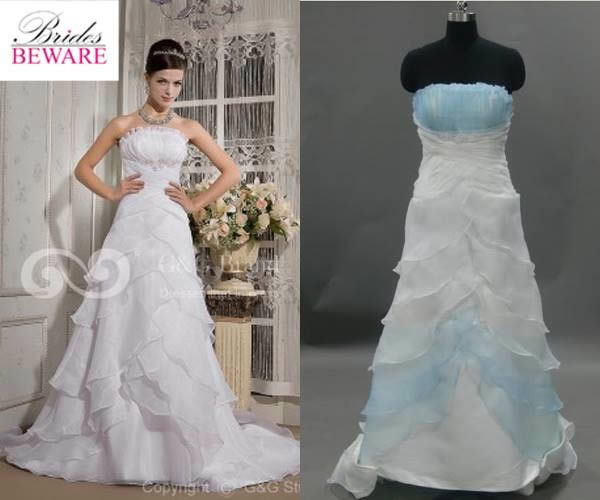 cheap wedding gowns in china best of 13 knock off dresses from hell oddee