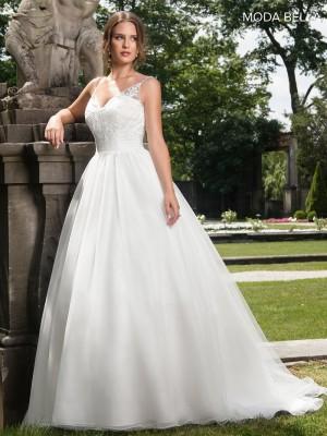 marys bridal mb2006 spaghetti straps wedding gown 01 391