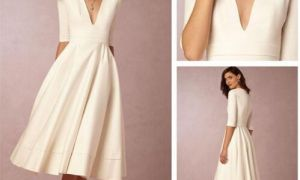 28 Lovely Cheap Wedding Dresses Under 100
