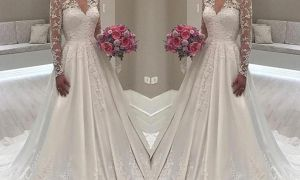 22 Lovely Cheap Wedding Reception Dresses