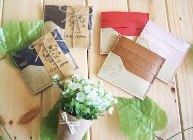 cheapest wedding favors cardholder leather wedding souvenir acc progressive