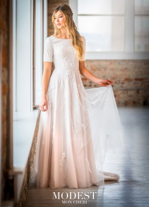modest bridal by mon cheri tr short sleeve wedding gown 01 681