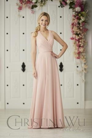 christina wu racerback bridesmaid dress 01 663