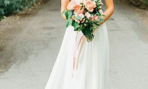 22 New Chiffon A Line Wedding Dresses