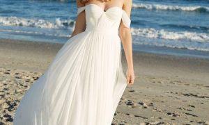 24 Beautiful Chiffon Beach Wedding Dresses
