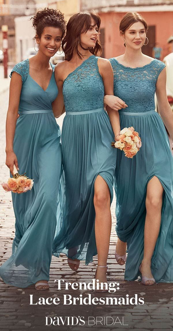 Chocolate Bridemaids Dresses Best Of A touch Of Lace Gives Bridesmaid Dresses Gorgeous Texture