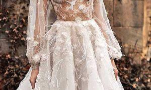 23 Beautiful Chocolate Wedding Dresses