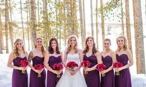 23 Awesome Christmas Bridesmaid Dresses
