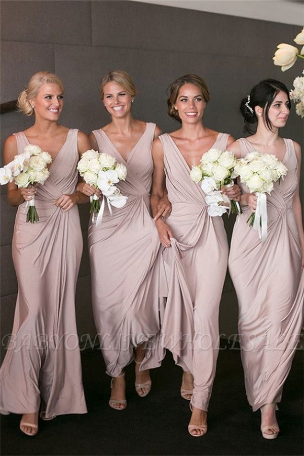 Clover Bridesmaid Dresses Lovely Elegant V Neck Y Bridesmaid Dresses Cheap Long Party