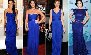 27 Beautiful Cobalt Blue Dresses for Wedding Guests