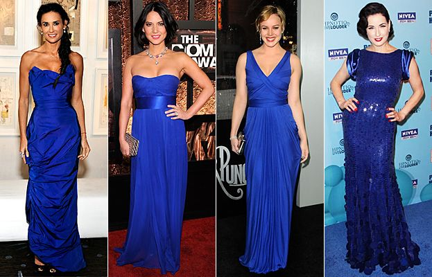 Cobalt Blue Dresses for Wedding Guests Awesome Red Carpet Trend Cobalt Blue Fashion ♡