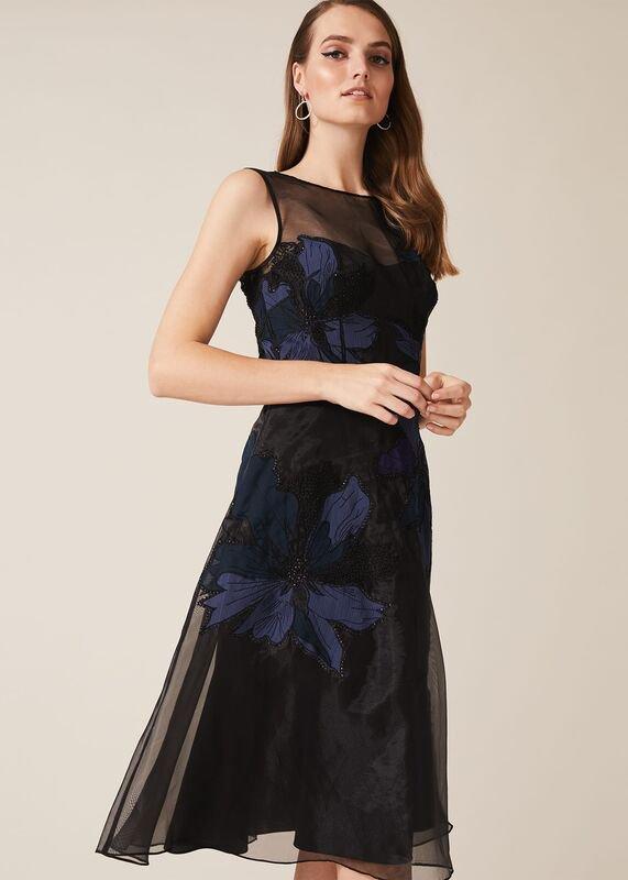 01 simone applique flower dress